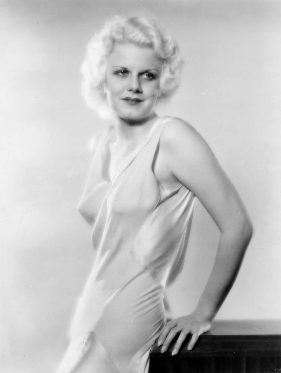 Stumfilmforbilledet Jean Harlow. (The Granger Collection)