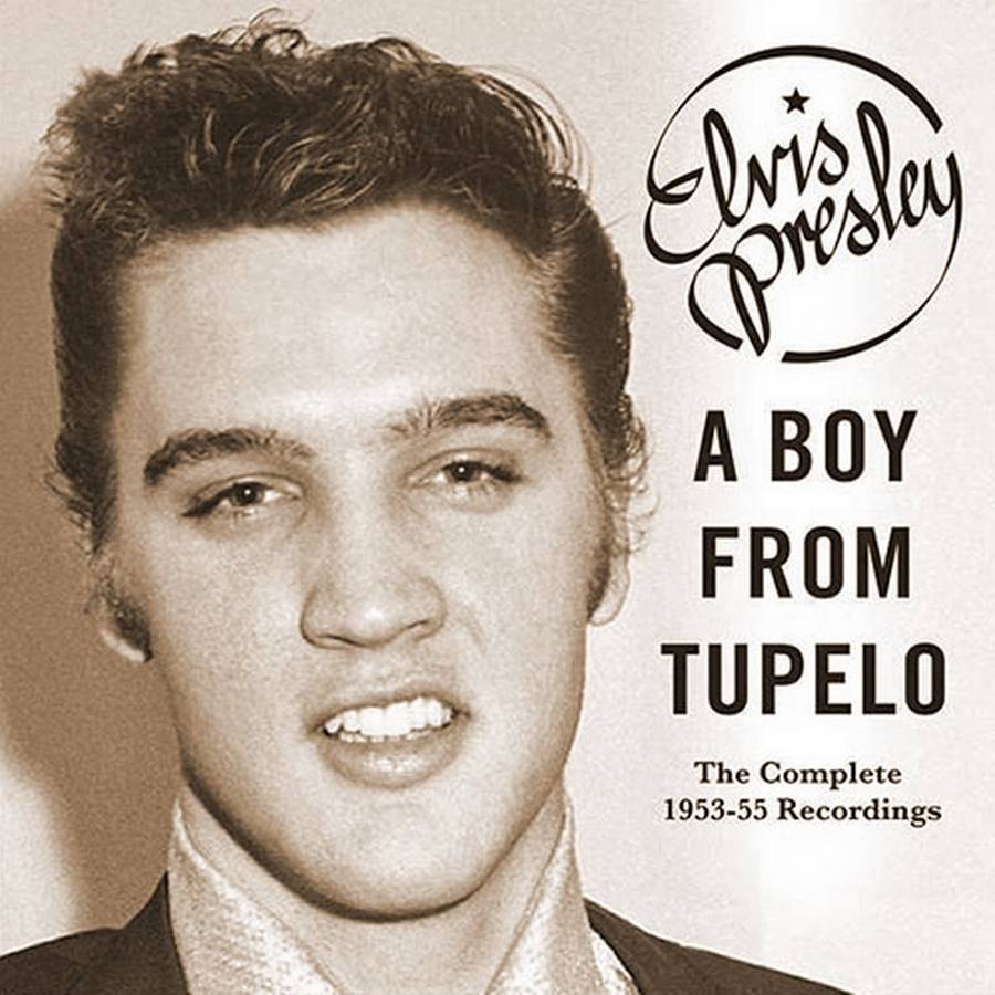 Coveret til værket 'A Boy From Tupelo: The Complete 1953-55 Recordings'.