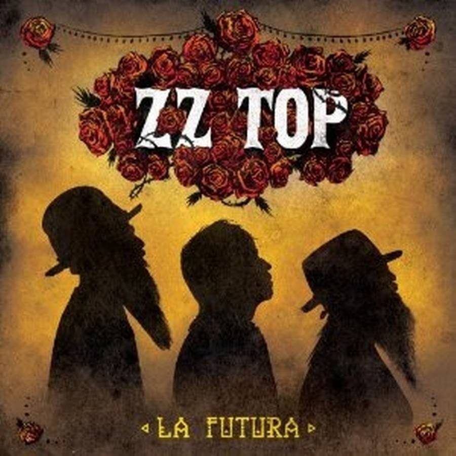 Coveret til det 15. studiealbum fra ZZ Top, 'La Futura'.