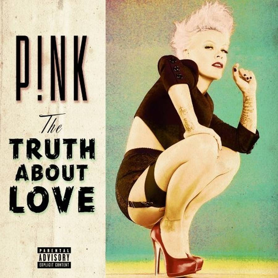 Coveret til Pinks aktuelle værk, 'The Truth About Love'.
