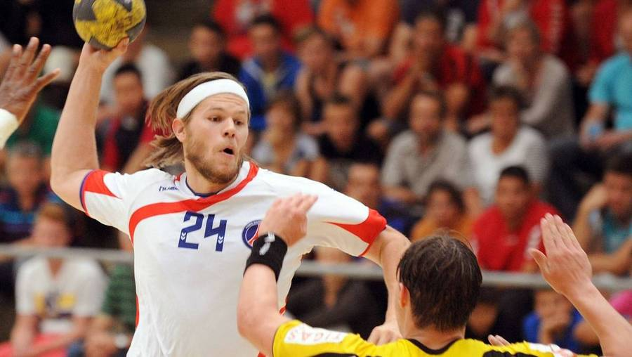 Mikkel Hansen i aktion for Paris Handball. (Foto: All Over)