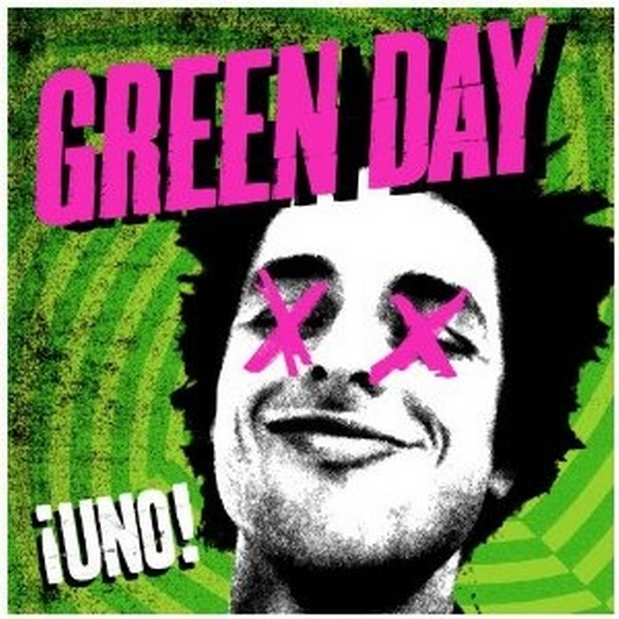 Coveret til Green Days niende studiealbum, 'iUno!'.