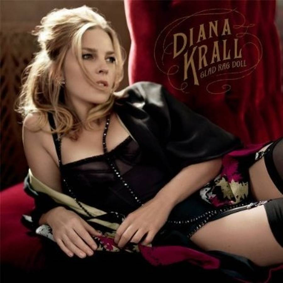 Coveret til Diana Kralls elvte album, 'Glad Rag Doll'.