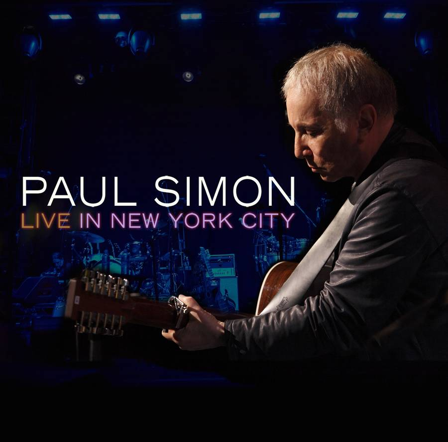 Coveret til Paul Simons liveudgivelse fra New York.