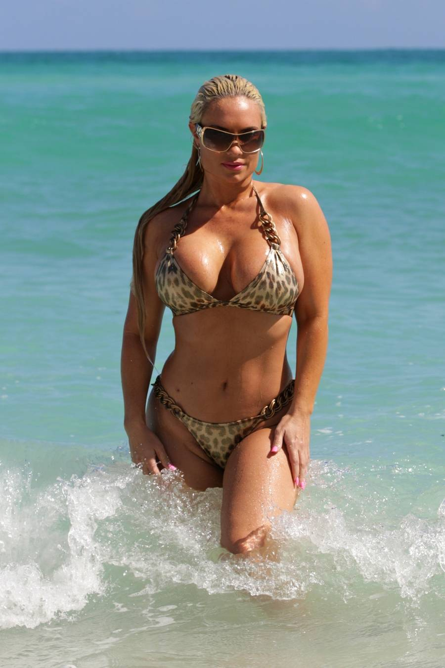 Coco Austin har udover sin store bagdel også to store fordele.(Foto: all over press)