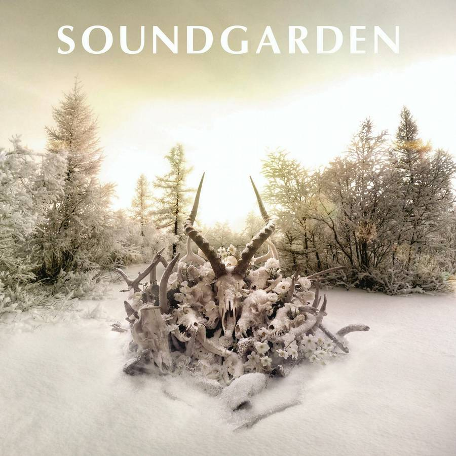 Coveret til Soundgardens comeback 'King Animal'.