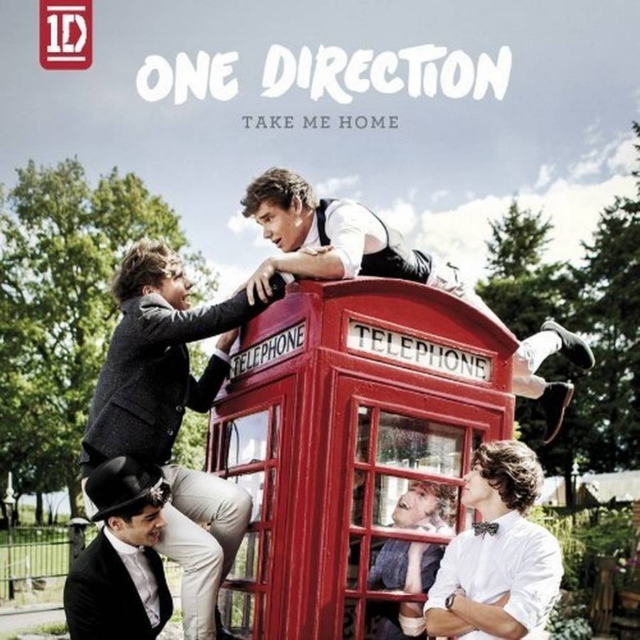 Coveret til One Directions aktuelle 'Take Me Home'.