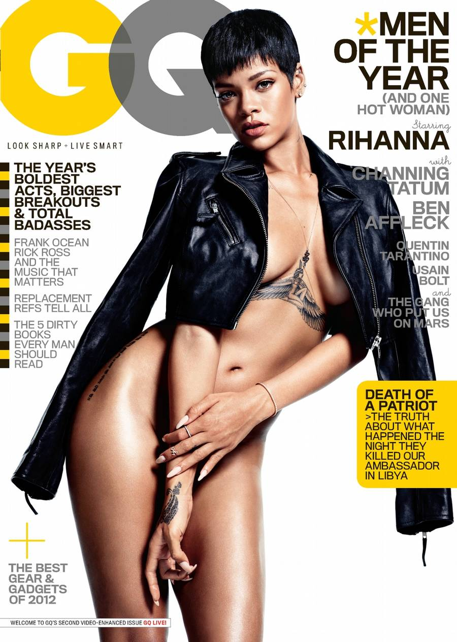 (Foto: Mario Sorrenti/GQ/http://www.gq.com/moty/2012/rihanna-cover-story-gq-men-of-the-year-2012).
