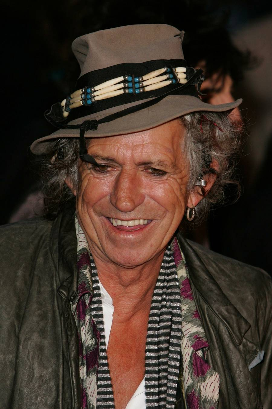 Keith Richards- rullesten og pirat. (AP Photo)