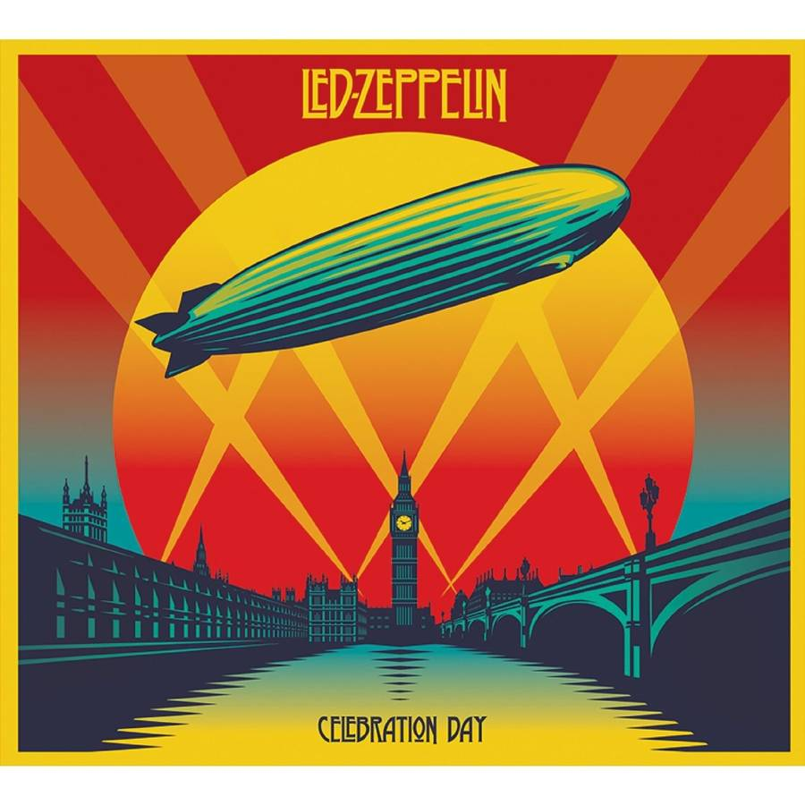 Coveret til Led Zeppelins aktuelle 'Celebration Day'.