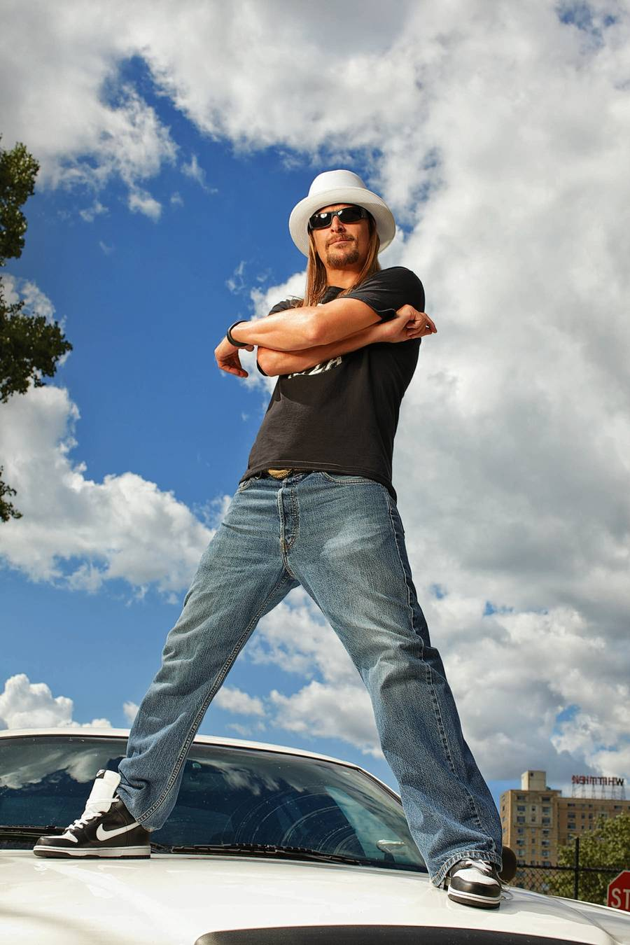 Kid Rock alias Robert James Ritchie fra Detroit. (Foto: Eric Ogden)