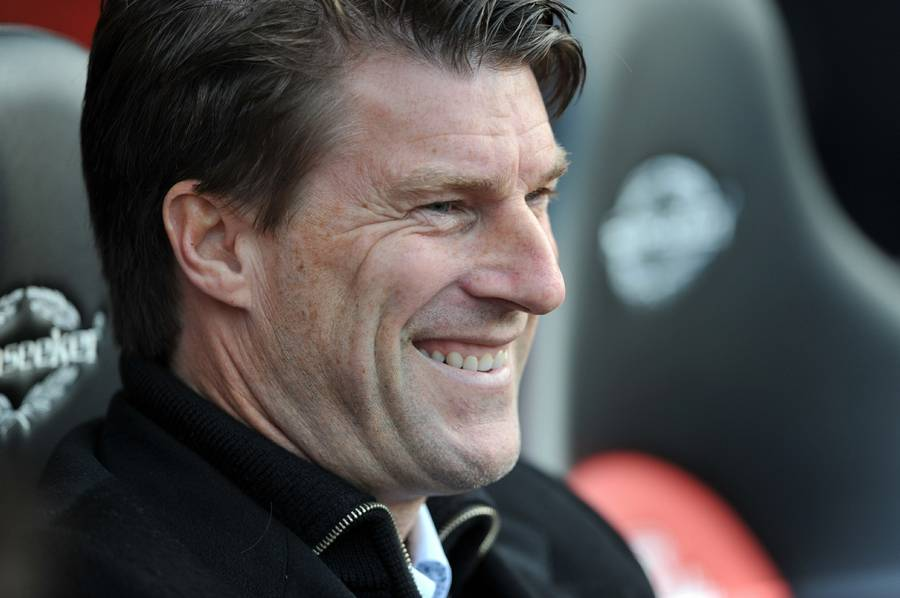 Smil over hele linjen for Laudrup (Foto: PA)