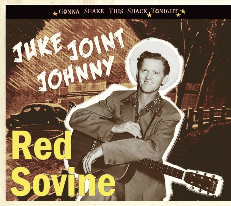 Coveret til Red Sovines aktuelle 'Juke Joint Johnny'.