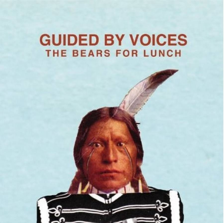 Coveret til Guided By Voices' 'The Bears for Lunch'.