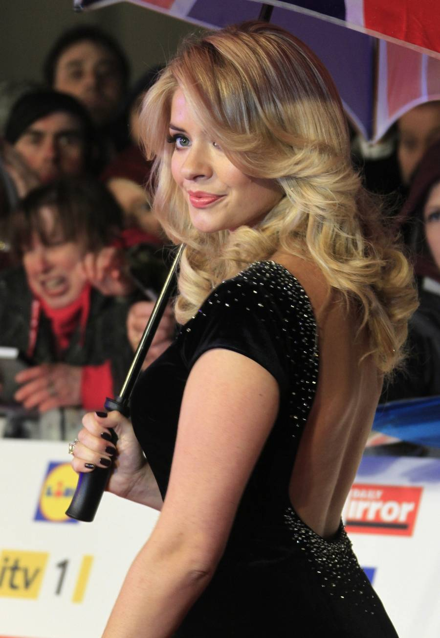 Holly Willoughby - tredie mest perfekte kvinde. (AP Photo)
