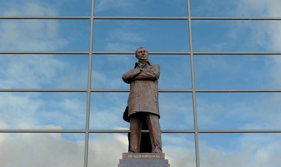 Sir Alex i statueform (Foto: AP)