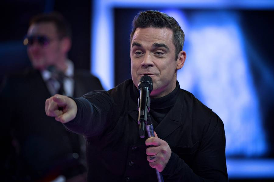 Robbie Williams - aktuel med 'Take the Crown'. (Foto: Jakob Jørgensen)