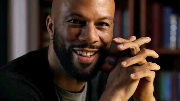 Common - rapperen fra Chicago reflekterer poetisk videre. (Foto: AP/Richard Drew)