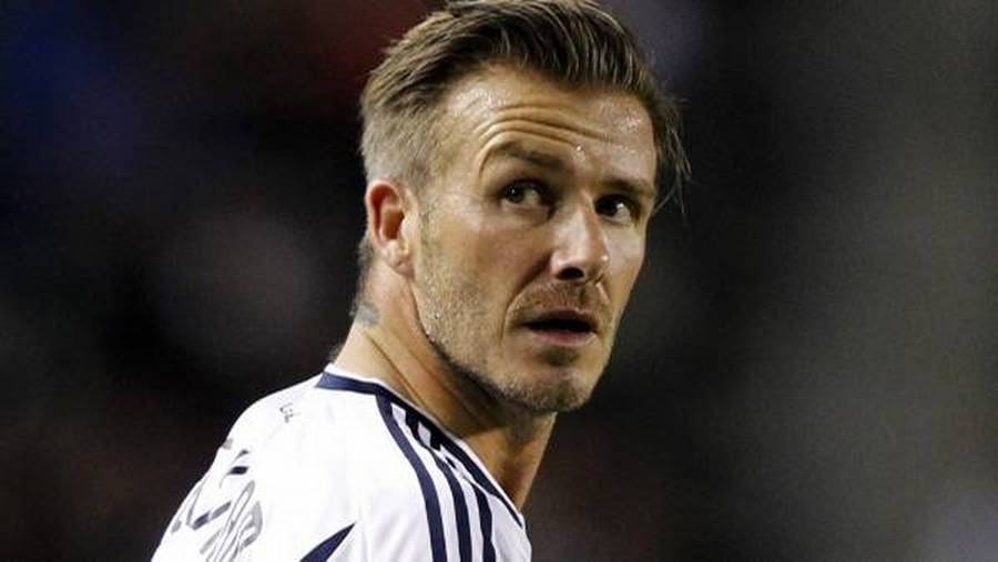 David Beckham forlader Los Angeles Galaxy. (Foto: AP)
