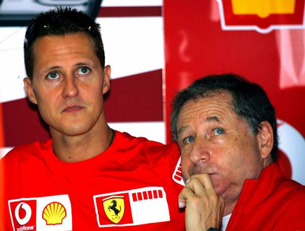 Jean Todt var teammanager for Michael Schumacher hos Ferrari (Foto: AP)