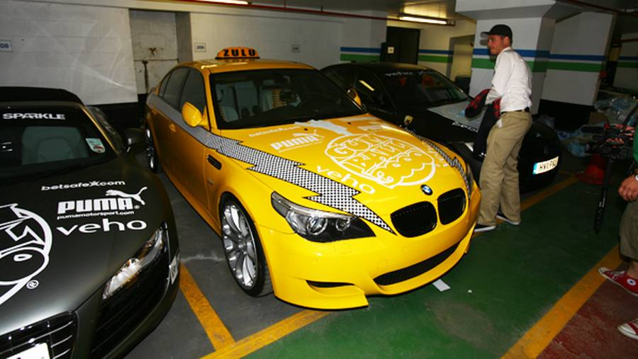 Zulu-holdets New York-inspirerede Yellow Cab. (Foto: Anders Richter)