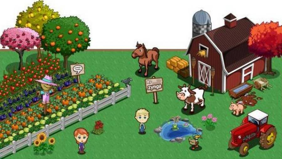 how to play farmville on a mac