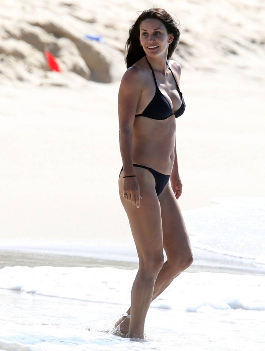 Courteney Cox er mor til tre og 48 år gammel. (Foto: All Over Press).