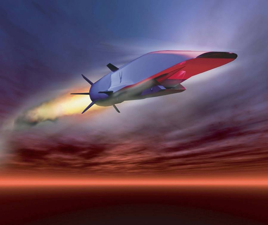 X-51A Waverider. (Grafik: U.S. Air Force)