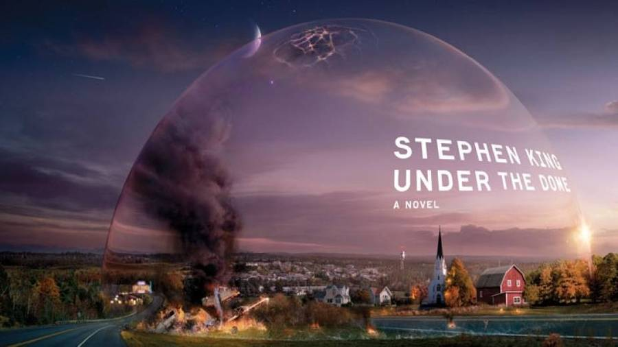Romanen 'Under the Dome' blev en bestseller i USA.
