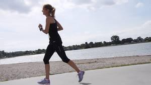 En britisk kvinde fik store vabler under sin deltagelse i et britisk langdistance-løb. Modelfoto: Colourbox