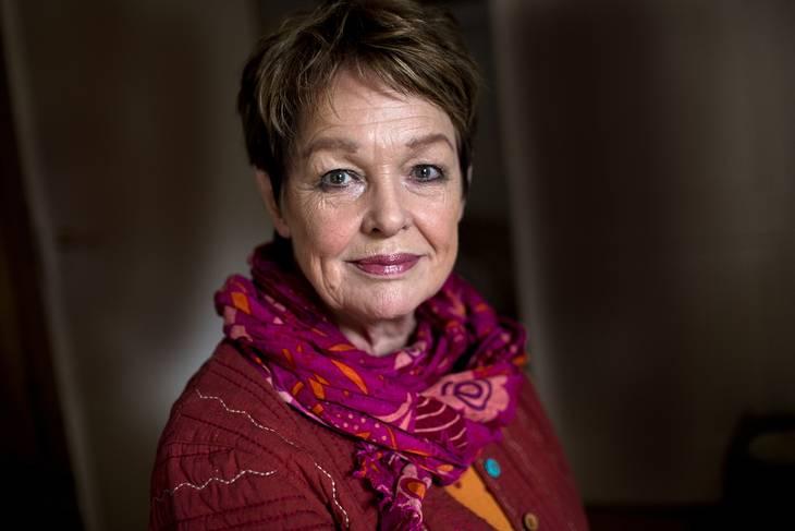 Det var ikke mange spørgsmål, Ghita Nørby fik svaret på i 'Go' aften Live'. Foto: Per Folkver