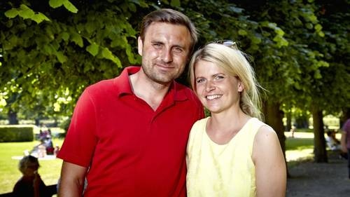 Heidi Frederikke og Anders er ikke længere sammen. Foto: Bo Nymann
