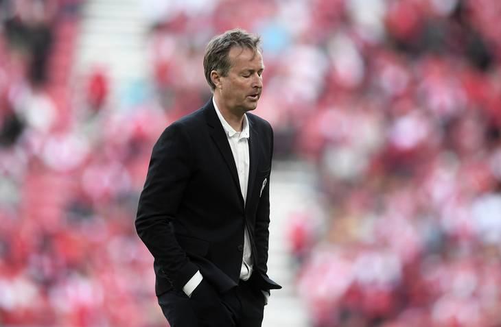 Kasper Hjulmands vigtigste opgave, da han tiltrådte var at landsholdet skulle begejstre danskerne igen. Det må man sige er sket under EM. Foto: Lars Poulsen.