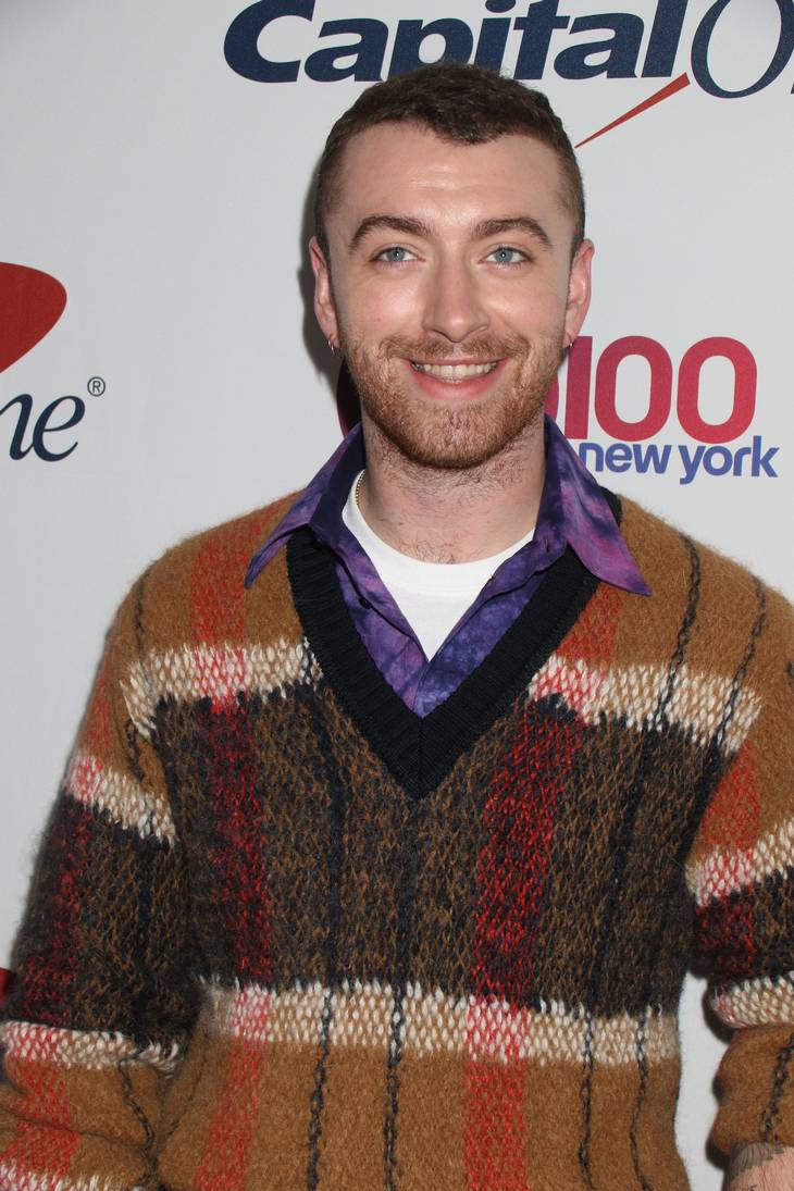 Sam Smith er glad for sit nye, lettere jeg. Foto: All Over Press