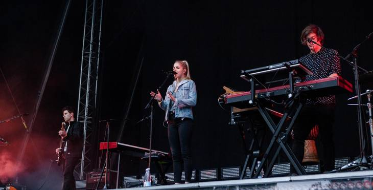 London Grammar udgiver fredag deres andet album, 'Truth Is a Beautiful Thing'. Foto: Per Lange