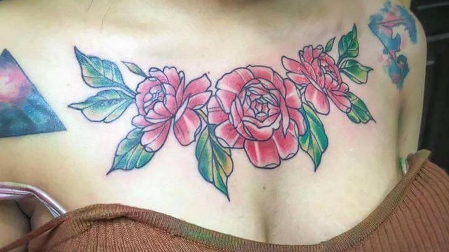 betændelse tatovering behandling