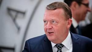 Løkke da han i denne uge talte Brexit med dansk spidser. Foto: Jens Dresling/Polfoto