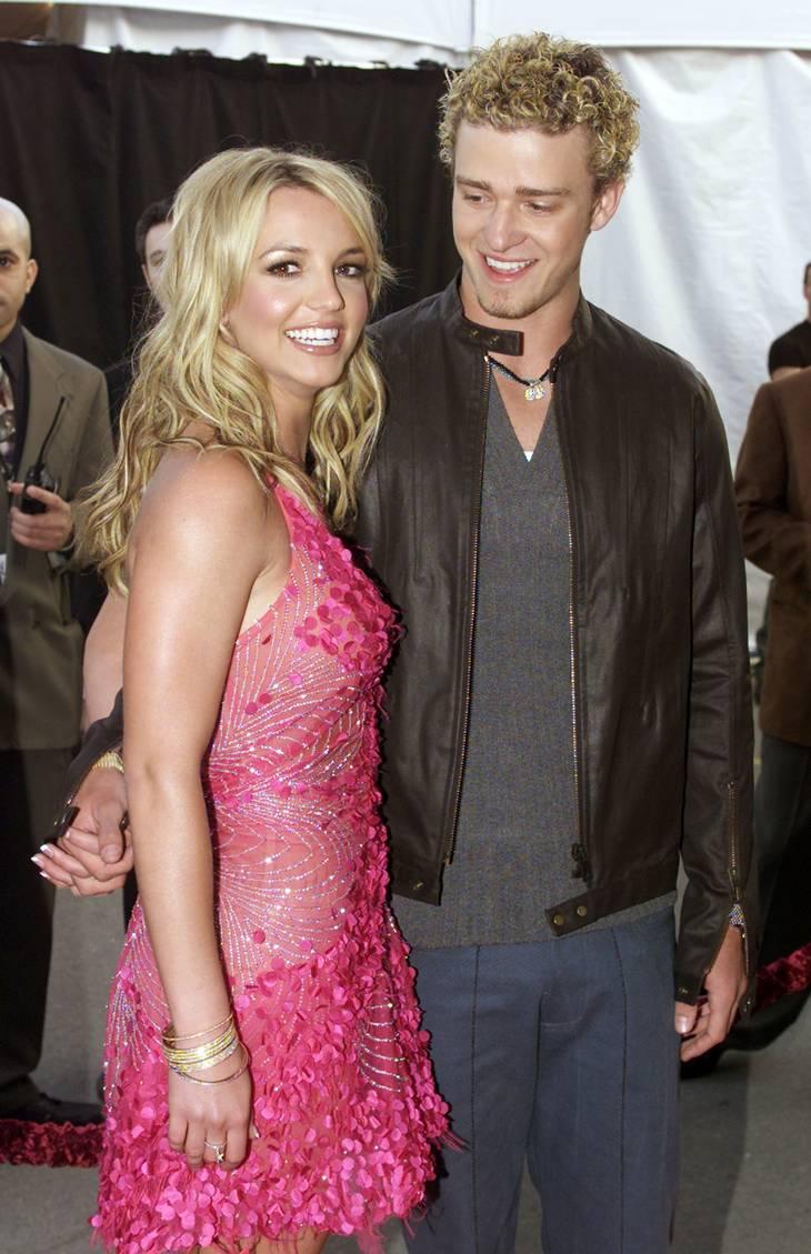 Parret endte deres forhold på dårlig vis, da Justin Timberlake anklagede Britney for at være sammen med en anden. Han har siden fortrudt sine udtalelser. Foto: Ritzau/Scanpix