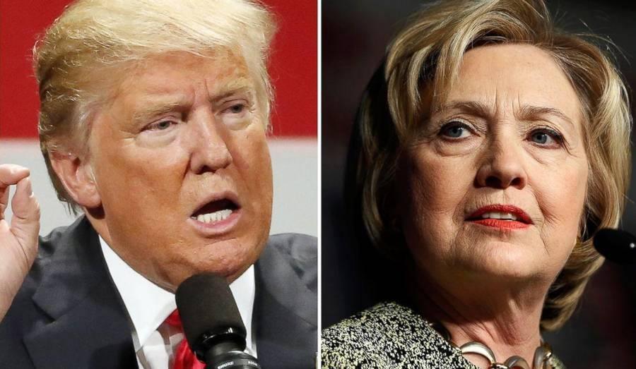 nyheder politik amerikansk valg maaling trump mod clinton kan blive en valggyser