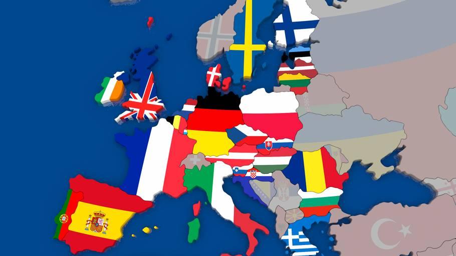 hvor mange lande er der i europa