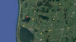 Redningsaktionen foregår i Stadil Fjord, som ligger nord for Ringkøbing Fjord. Googlemaps