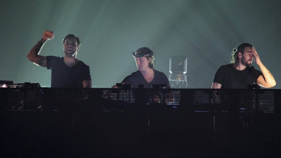Swedish House Mafia under en koncert i 2012. Foto: All Over Press