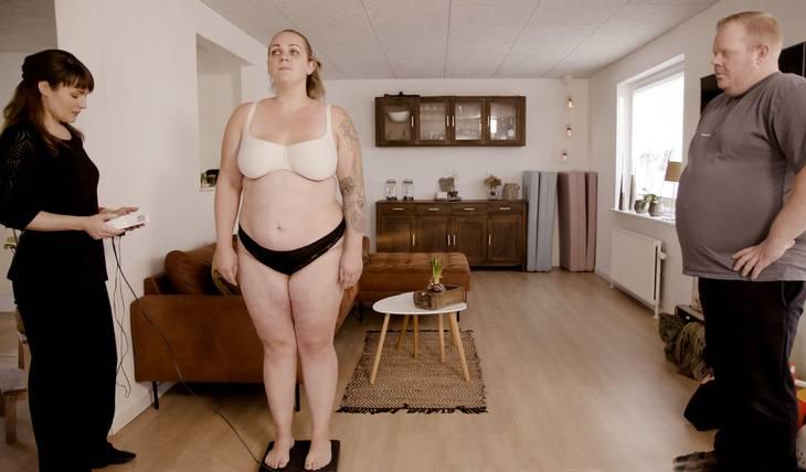 Parret vil nu gerne gøre noget for at bryde med vægten. Foto: DR/Morten Sønniksen