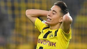 Den er angiveligt gal med Emre Mors indstilling i Dortmund, og det kan blive dyrt for den unge dansk-tyrker, mener tysk medie. Foto: AP/Martin Meissner.