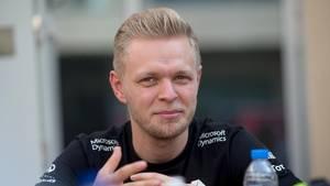 Kevin Magnussen er for tiden i England, hvor han besøger Haas' hovedkontor. Foto: Jan Sommer