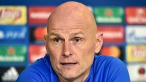 Selv om Club Brugge ikke har noget at spille for længere, så forventer Ståle Solbakken en lige kamp mod belgierne. Foto: Lars Poulsen