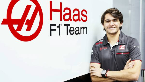 Pietro Fittipaldi er ny test og reservekører for Haas F1. Foto: Andy Hone/Haas F1 Team