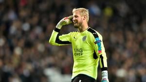 Kasper Schmeichel kan få comeback for Leicester allerede i lørdagens kamp mod Bournemouth. Foto: Lars Poulsen