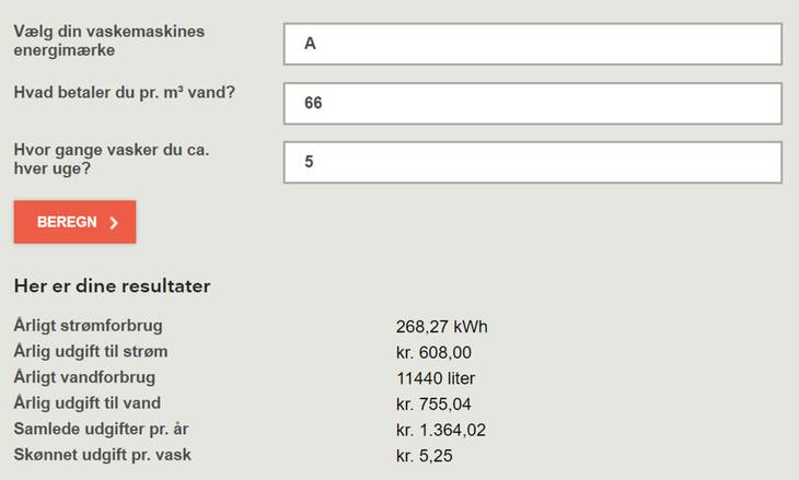 hvad koster strøm