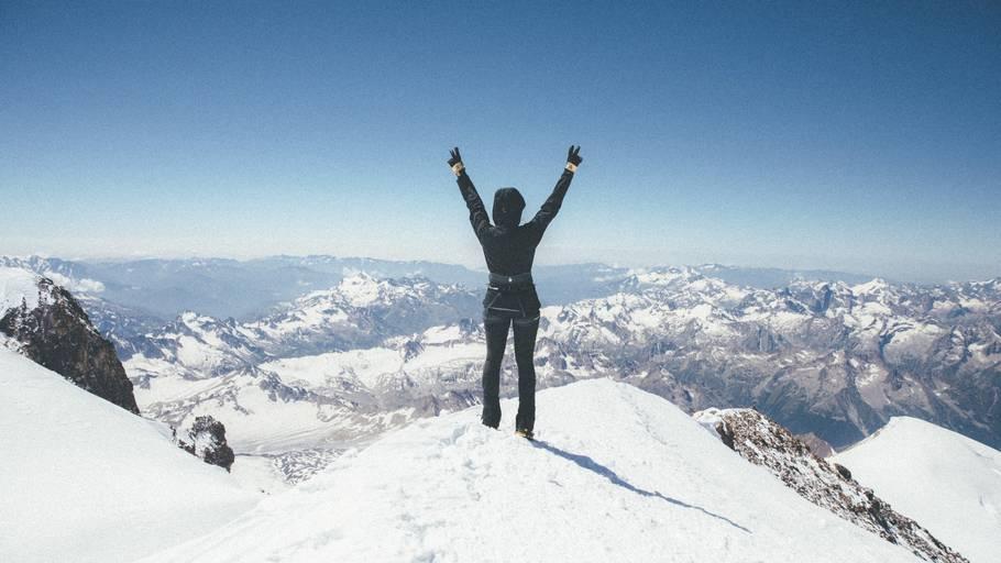 bestig et bjerg